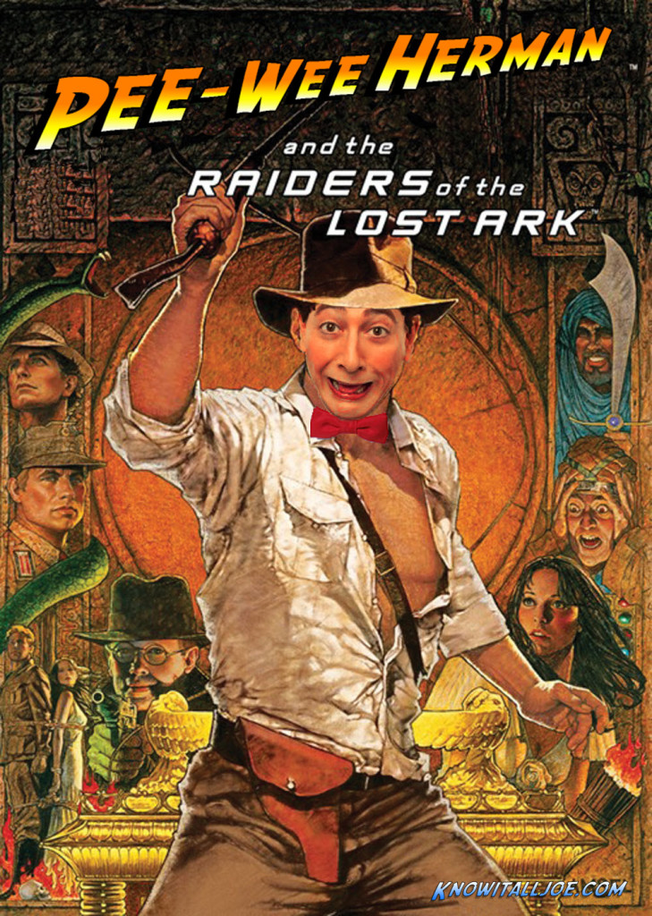Pee-wee Herman and the Raiders of the Lost Ark fix