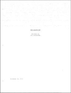 2016 Blacklist Scripts Reddit - 0425