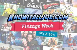 Know It All Joe Vintage Week Pic