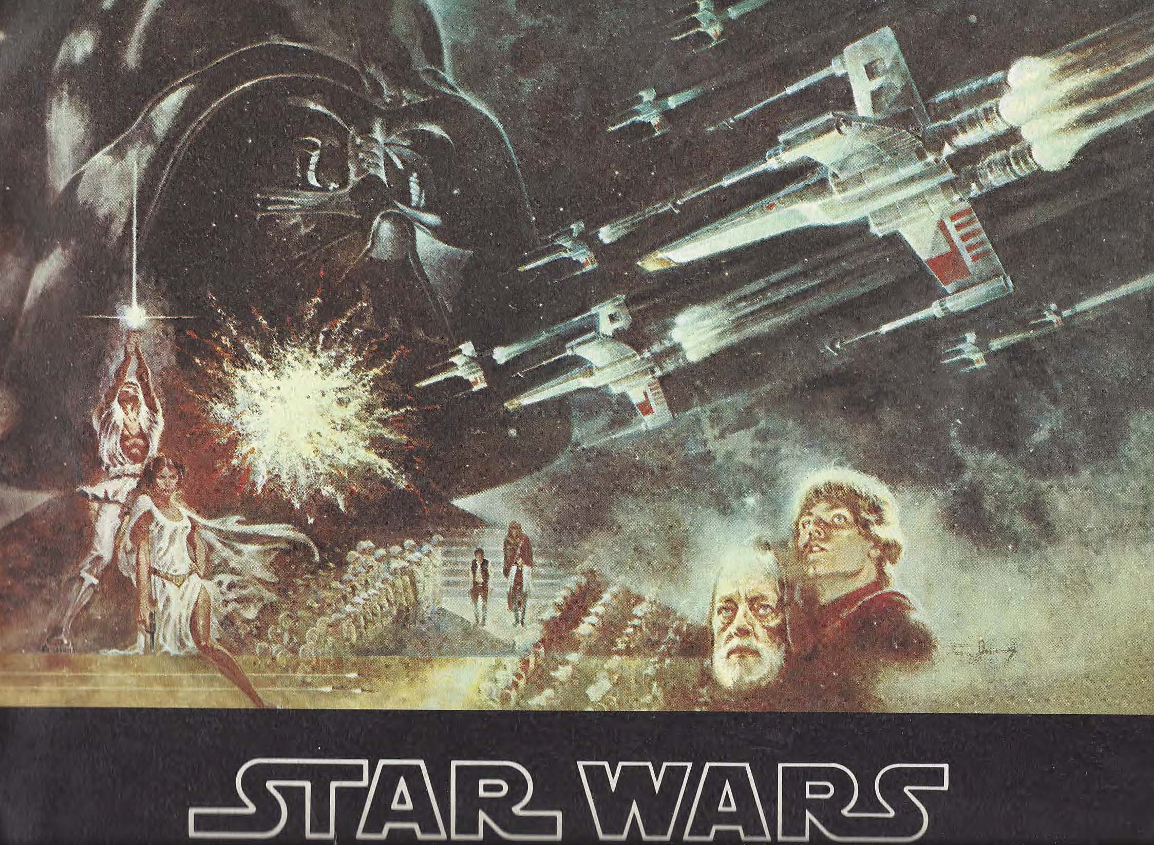 Making The Kessel Run With The Quot Star Wars Quot 1977 Souvenir