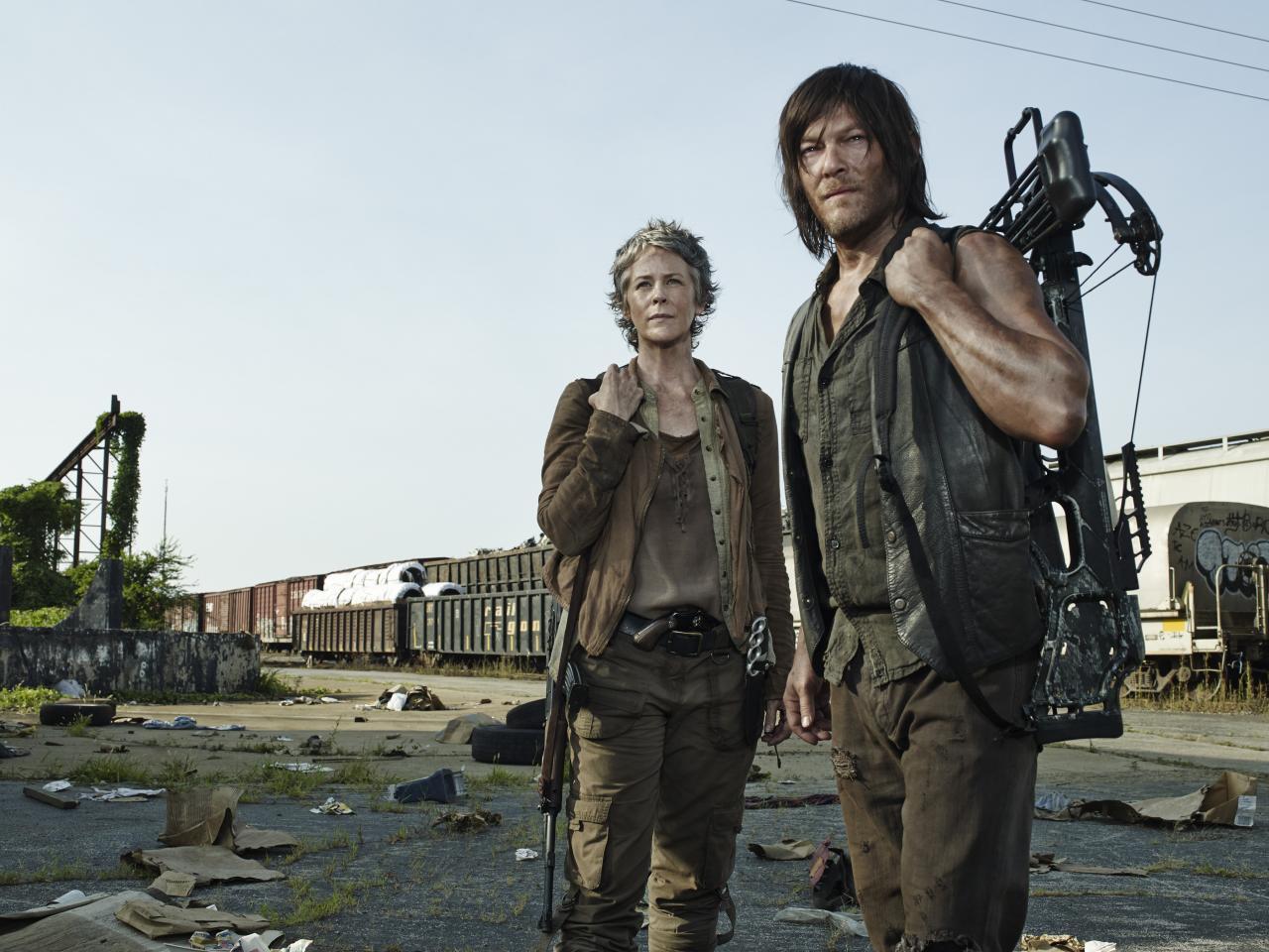 """The Walking Dead: New """"The Walking Dead"""" Season 5 Pics"""