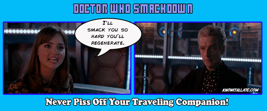 Doctor Who Smackdown PSA
