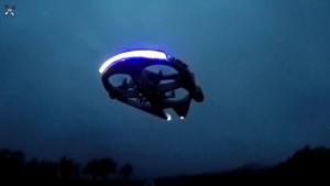Millennium Falcon Quadcopter Drove Night