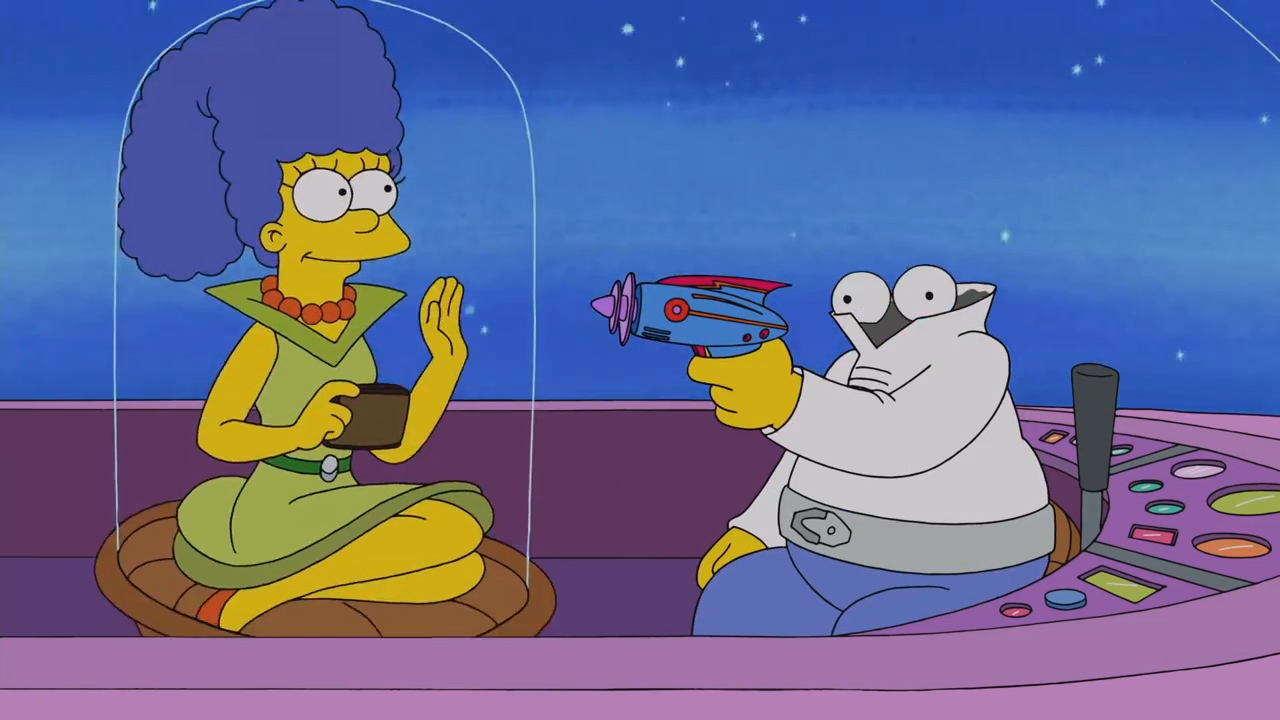 The Simpsons The Jetsons Parody Pic