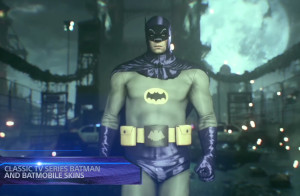 Batman Arkham Knight Classic Batman Skin Pic