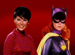 Yvonne Craig and Batgirl
