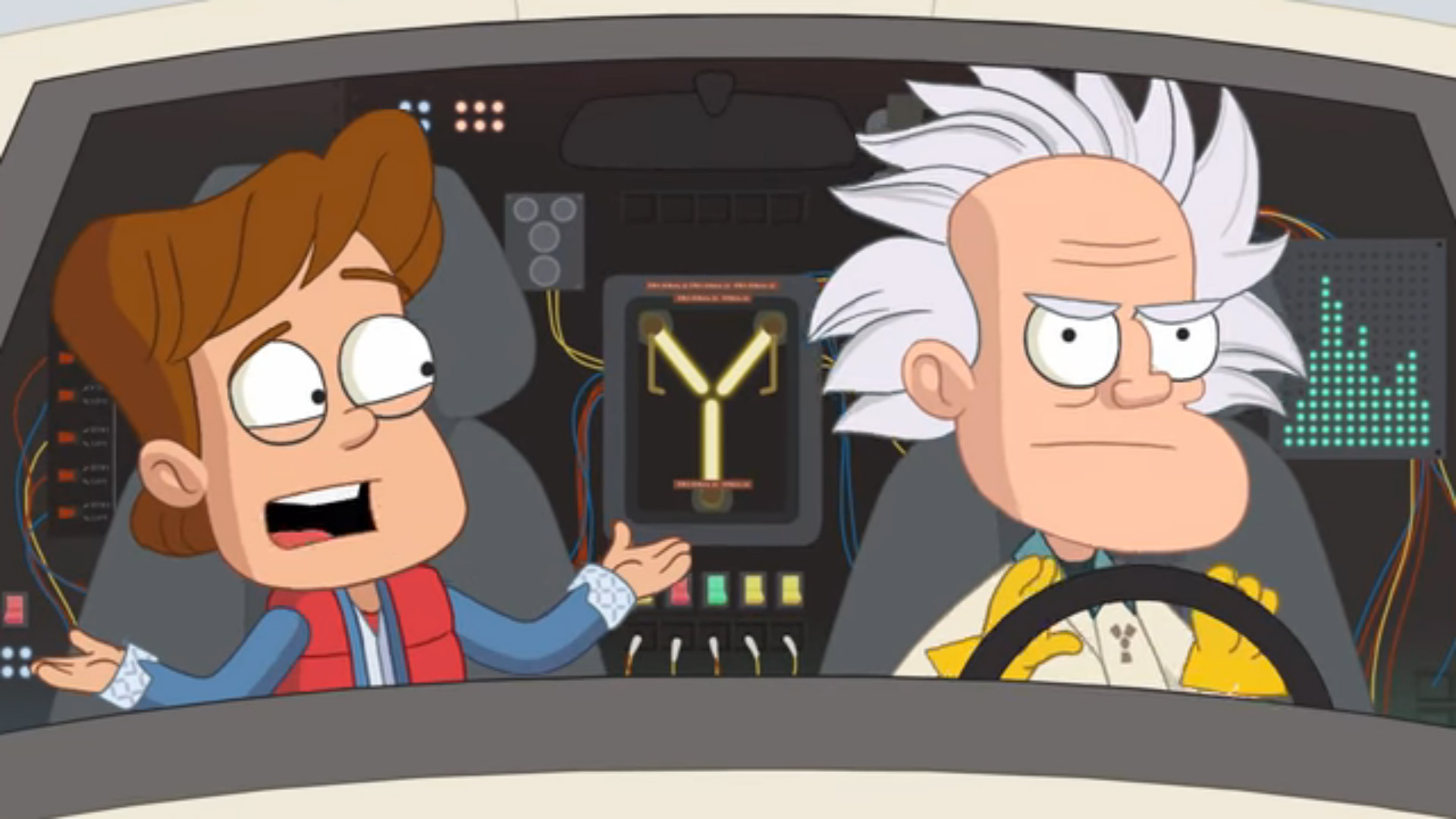 Doc And Marty Return In New Quot Back To The Future Quot Animation