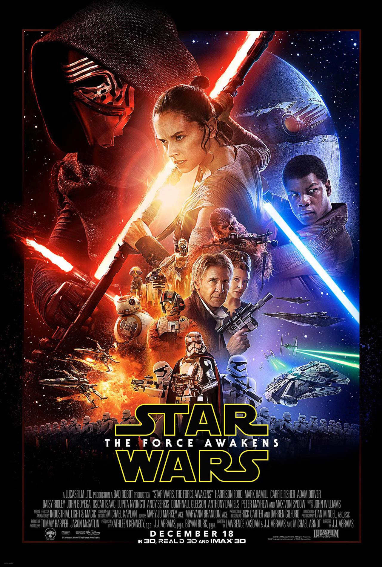 hey it 39 s the new star wars the force awakens poster know it all joe. Black Bedroom Furniture Sets. Home Design Ideas