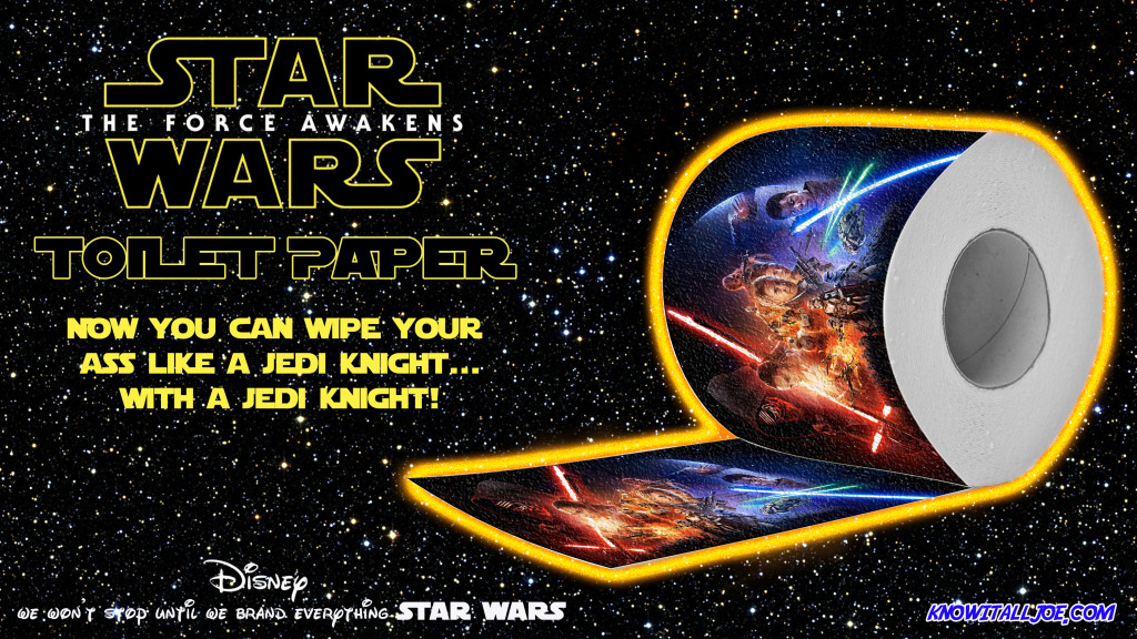 Star Wars Toilet Paper Ad