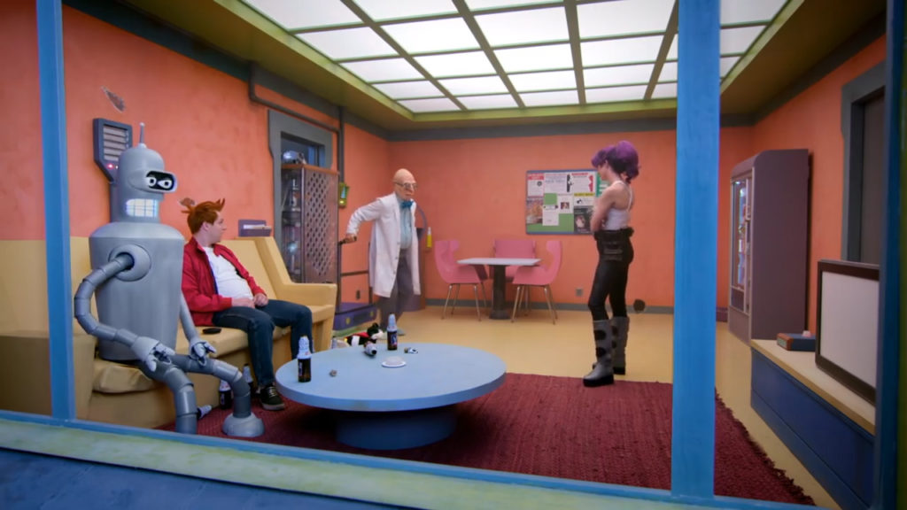 Live-Action Futurama Pic 13