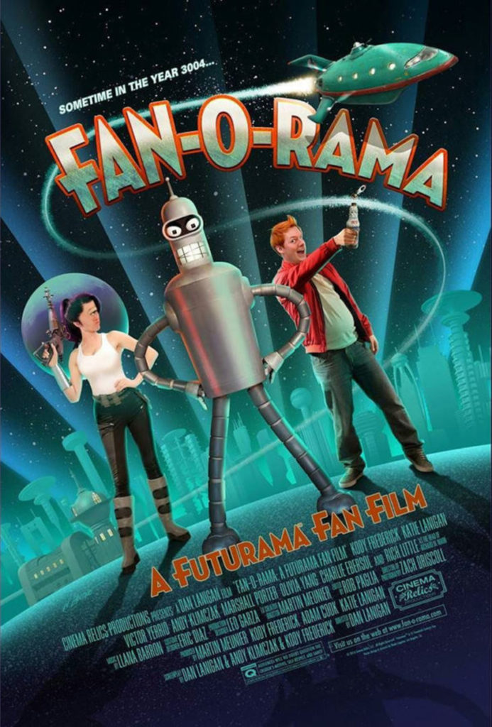 Live-Action Futurama Poster