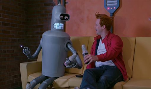 "A Live-Action ""Futurama"" Trailer, Poster, and Screenshots"