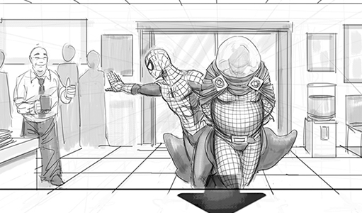 """Spider-Man 4"" Storyboards from Sam Raimi's Defunct Sequel"