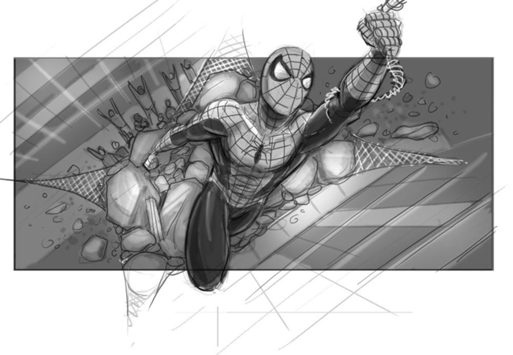 Spider-man 4 Storyboard 10