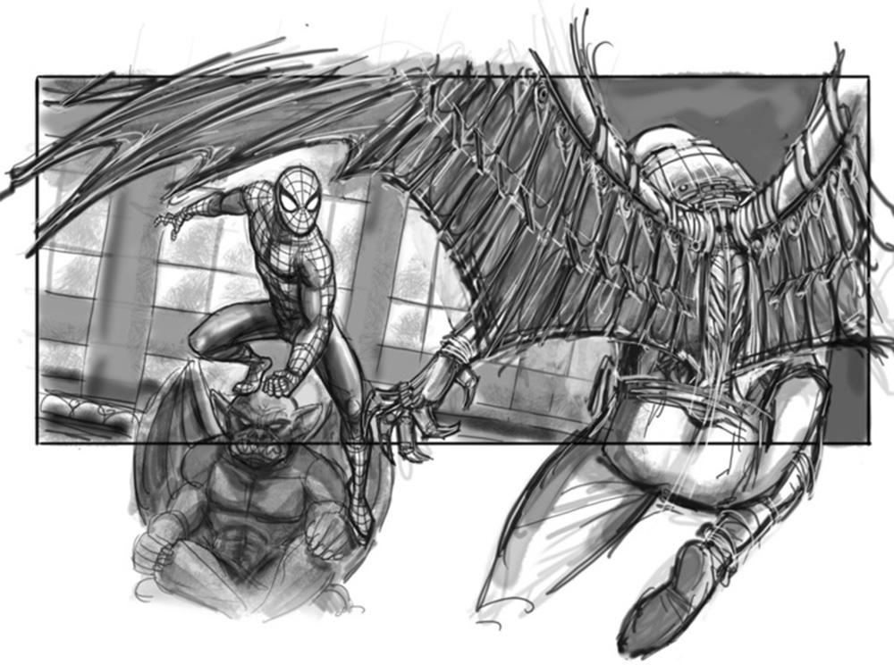 Spider-man 4 Storyboard 11