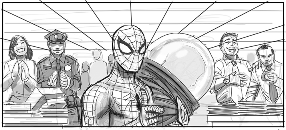 Quot Spider Man 4 Quot Storyboards From Sam Raimi S Defunct Sequel
