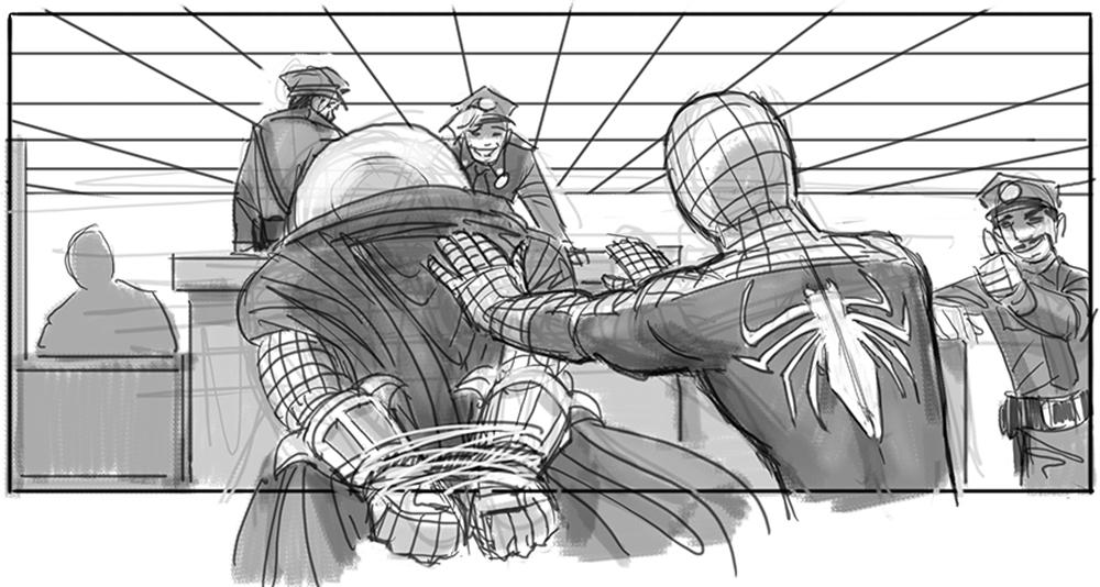 Spider-man 4 Storyboard 3
