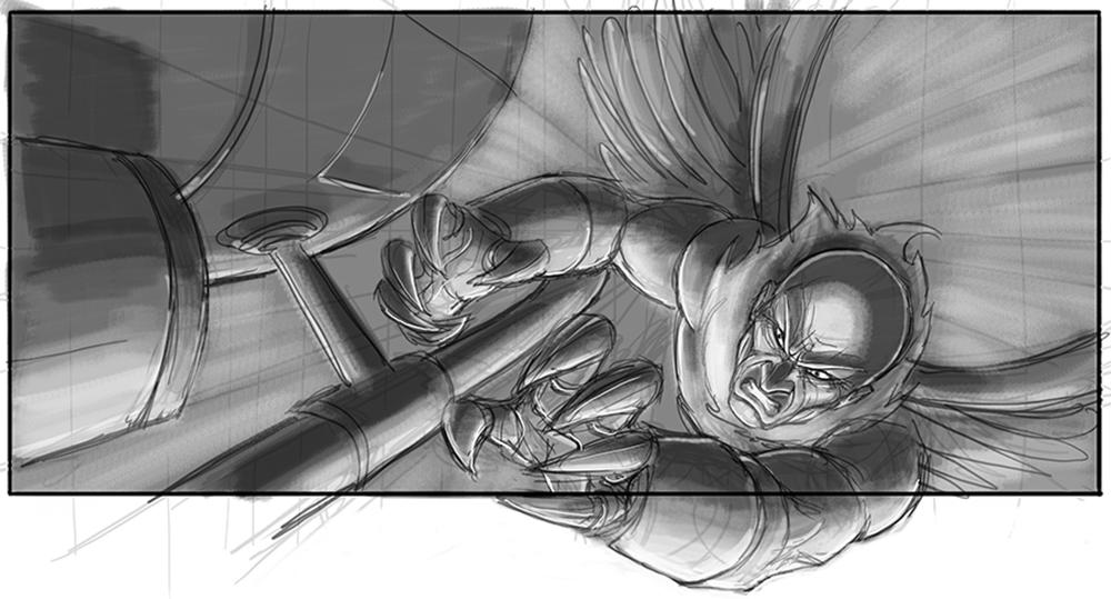 Spider-man 4 Storyboard 8