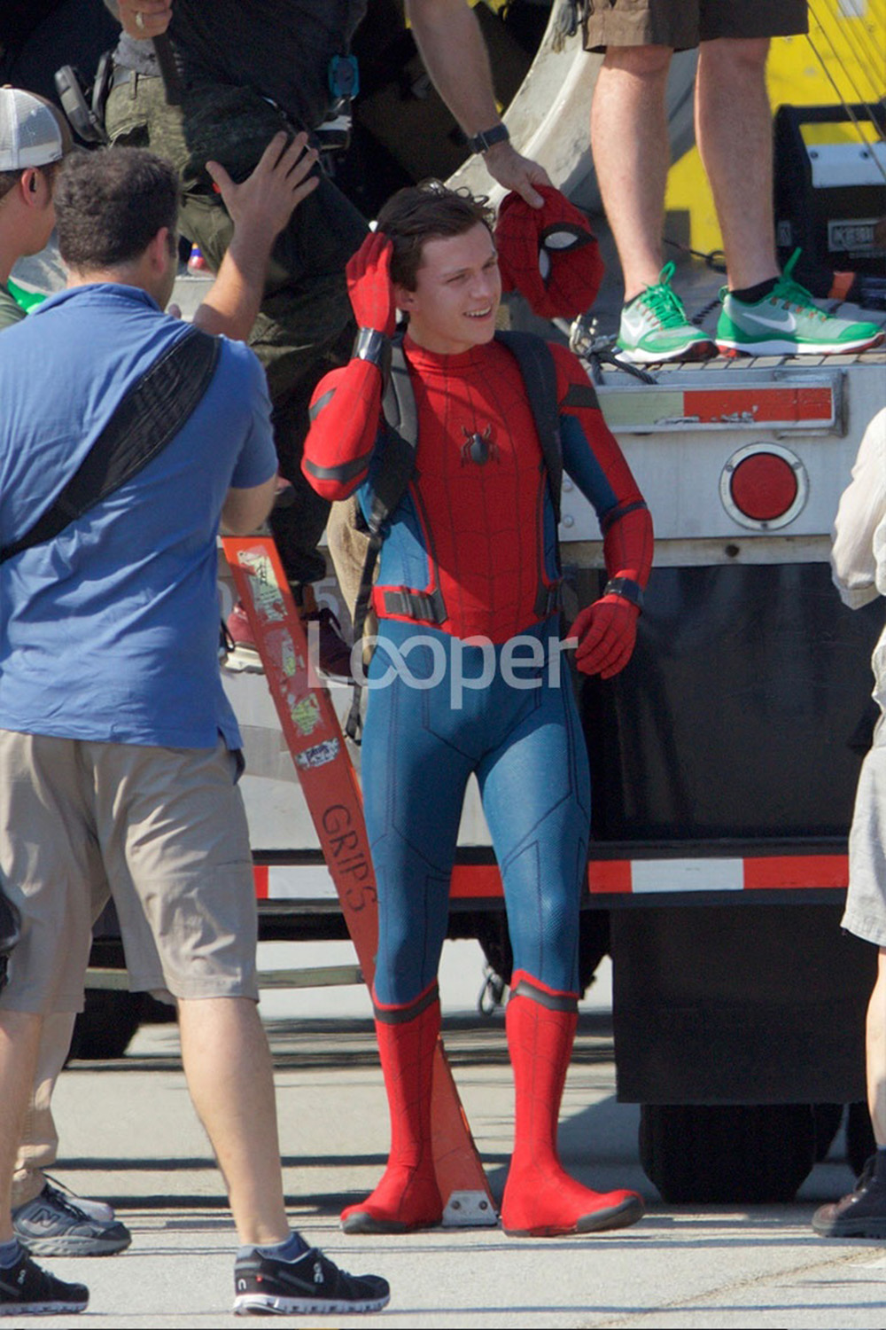 spiderman_Spider-Man: Homecoming Behind The Scenes Pics   Know It All Joe