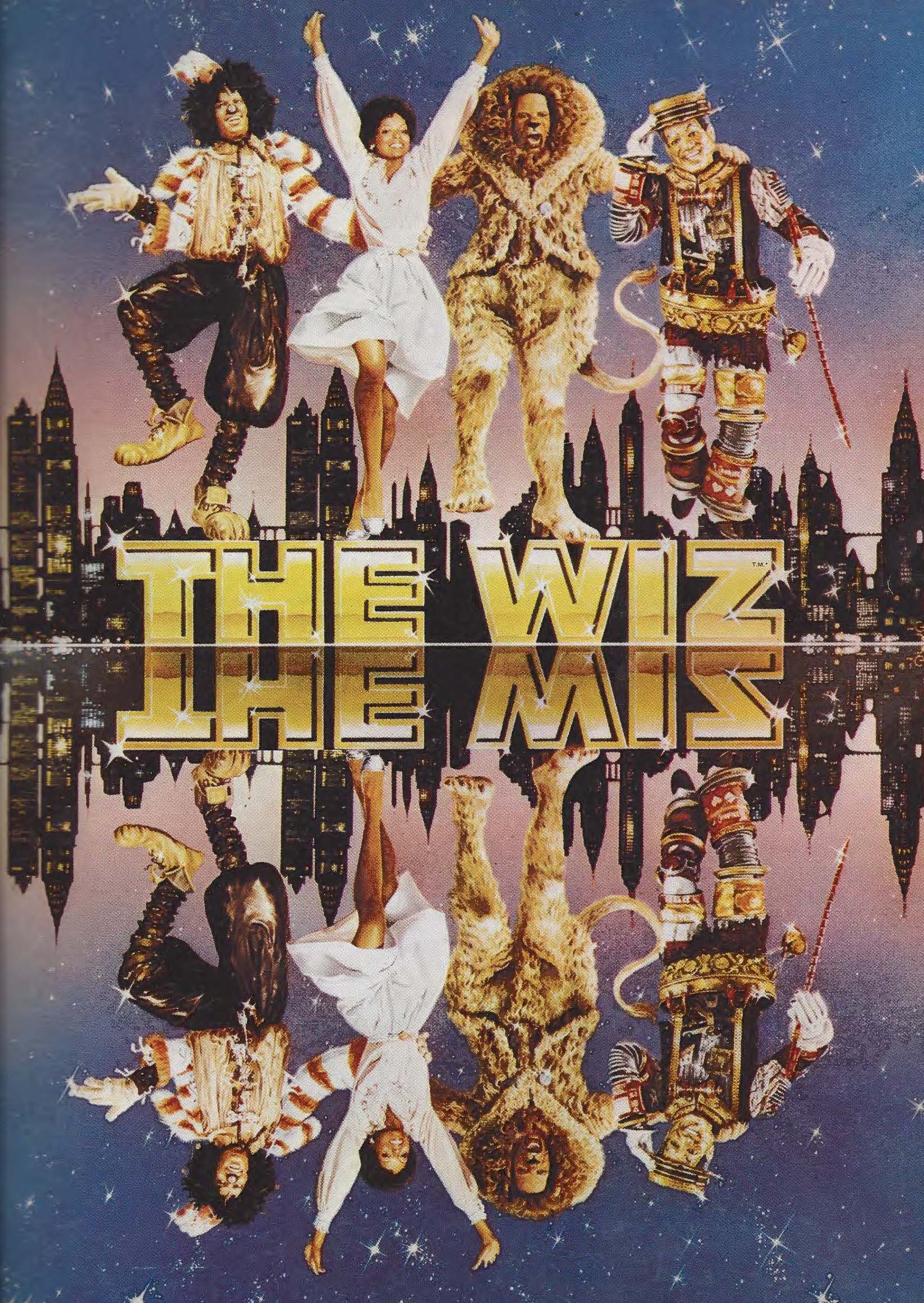 "Ease on Down the Road with 1978 ""The Wiz"" Souvenir Movie"